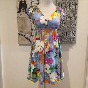 Jams World Vintage Luau Print Dress